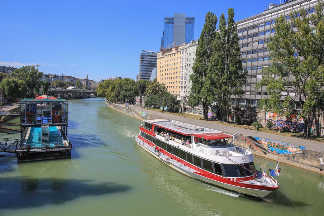 Rondvaart op de Donau
